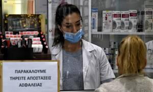 Κορονοϊός: Οι φαρμακοποιοί προσφέρουν μάσκες, αντισηπτικά και αναπνευστήρες για το ΕΣΥ