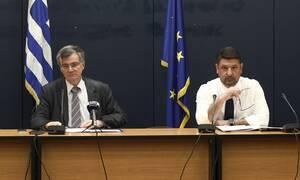 Κορονοϊός: Δείτε LIVE την ενημέρωση του υπουργείου Υγείας από τον Σ. Τσιόδρα και το Ν. Χαρδαλιά