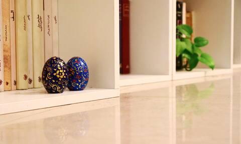 DIY: Φτιάξε ένα εντυπωσιακό πασχαλινό αυγό που θα στολίσει το σπίτι σου
