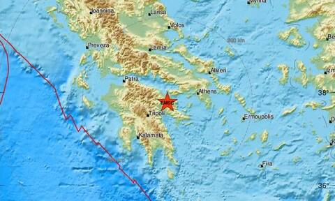 Σεισμός κοντά στην Κόρινθο - Αισθητός στην Αθήνα