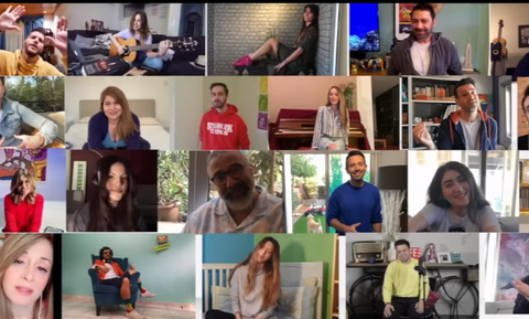 Κορονοϊός: 22 Κύπριοι καλλιτέχνες ένωσαν τις φωνές τους και τραγούδησαν για τη μάχη κατά του ιού