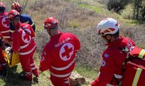 Ελληνικός Ερυθρός Σταυρός: Μεγάλη επιχείρηση στην Ξάνθη για τη διάσωση ηλικιωμένου