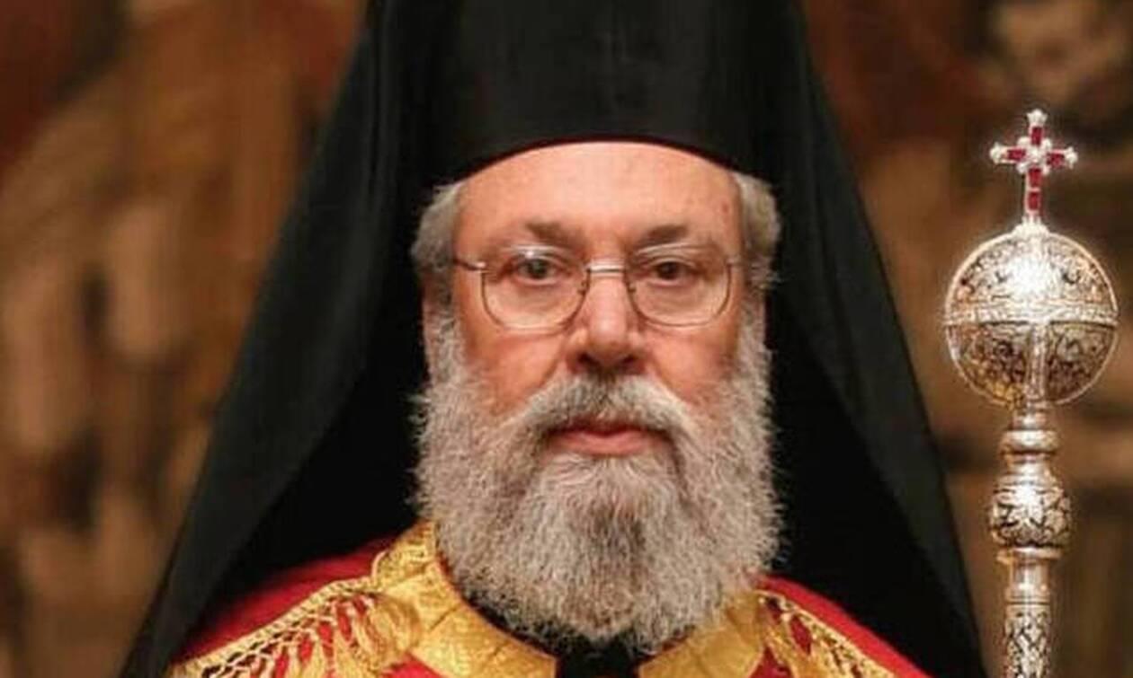 Αρχιεπίσκοπος Κύπρου: Θα συνεχίσω να προσφέρω όσο θα έχω δυνάμεις