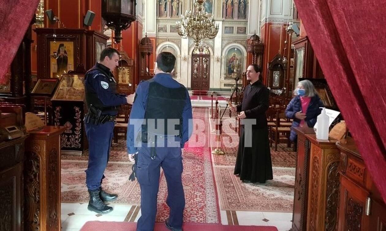 Πάτρα: Χαμός σε εκκλησία - Τους έβγαλε έξω η αστυνομία!