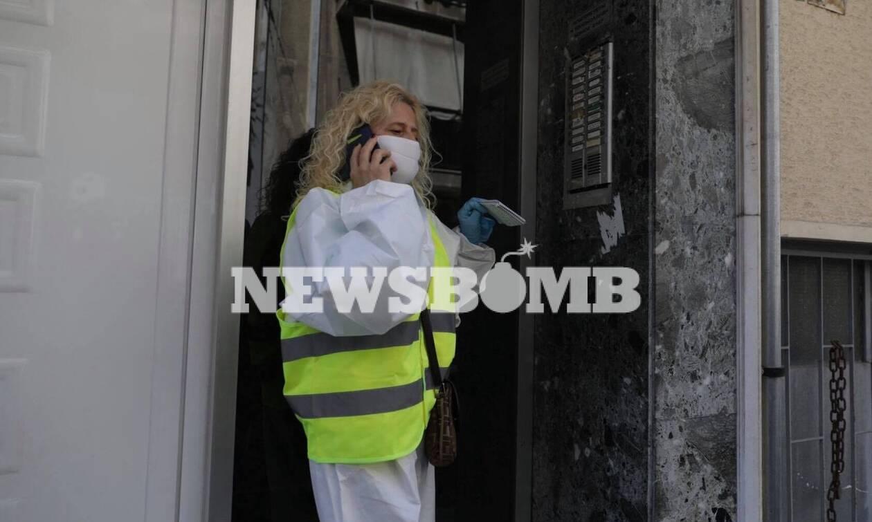 Κορονοϊός - «Βοήθεια στο Σπίτι»: Πόρτα-πόρτα η παροχή βοήθειας σε όσους το έχουν ανάγκη (pics)