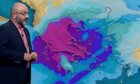 Καιρός Πάσχα: Κι όμως... Θα έχει και χιόνια η Μεγάλη Εβδομάδα. Η ανάλυση του Αρναούτογλου (vid)