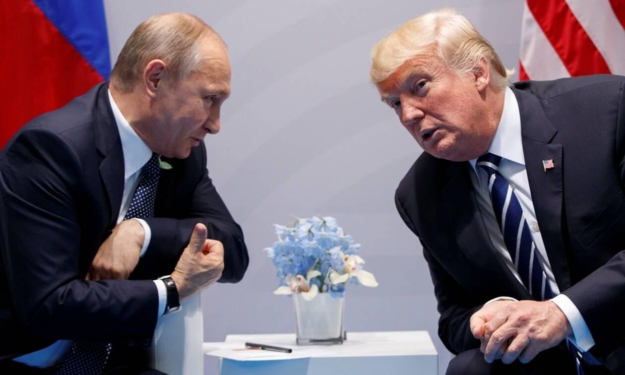 Τηλεφωνική επικοινωνία Πούτιν - Τραμπ: Τι συζήτησαν οι δύο ηγέτες