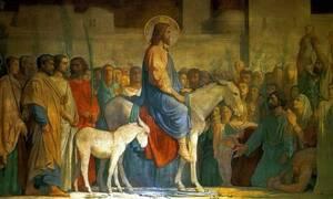 Κυριακή των Βαΐων: Τι γιορτάζουμε σήμερα
