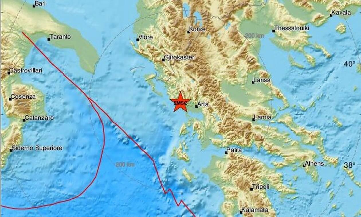 Σεισμός ΤΩΡΑ κοντά στην Πάργα (pics)