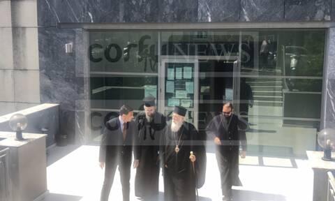Κορoνοϊός: Στον εισαγγελέα ο Μητροπολίτης Κέρκυρας - Ορίστηκε δικάσιμος
