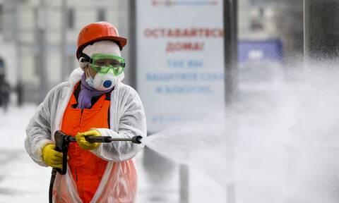 Κορονοϊός Ρωσία: Περισσότεροι από 240 ασθενείς είναι διασωληνωμένοι