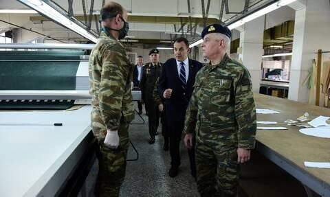 Ο Ελληνικός Στρατός στη μάχη κατά του κορονοϊού - Τα «όπλα» που θα παραλάβουν όλα τα στρατόπεδα
