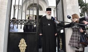 Αρχιεπίσκοπος Ιερώνυμος: «Δεν συζητείται η Θεία Κοινωνία, η συνάθροιση είναι κάτι διαφορετικό»