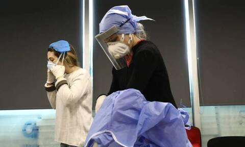 Κορονοϊός: Εικόνες - σοκ από το νοσοκομείο