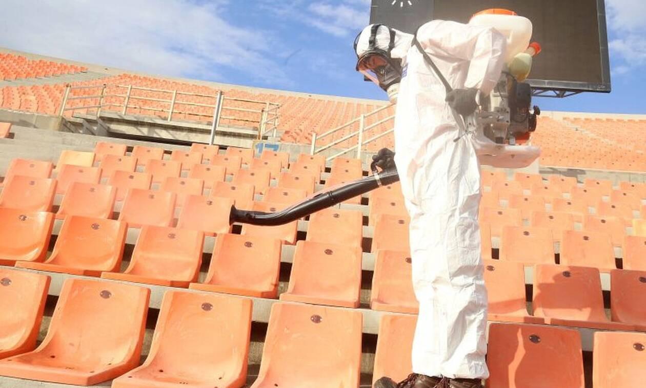 Κορονοϊός-Πρόβλεψη «βόμβα» για τον αθλητισμό: «Χωρίς κόσμο όλα τα γήπεδα ως και 18 μήνες»