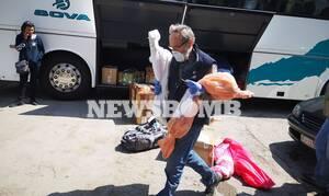 Αυτοψία του Newsbomb.gr στα ΚΤΕΛ: Στέλνουν αρνιά και κατσίκια σε σακούλες από την επαρχία (pics&vid)