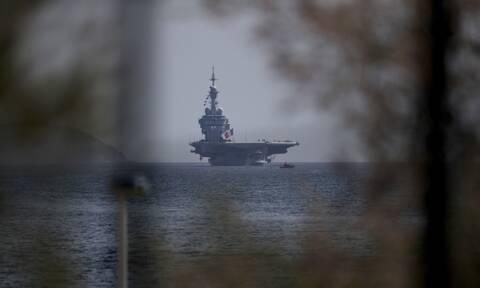 Κορονοϊός Γαλλία: Θρίλερ στο αεροπλανοφόρο Charles de Gaulle - Θετικοί στον ιό  668 ναύτες
