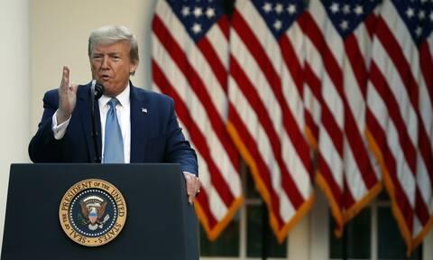 Κορονοϊός - Τραμπ: Οι ΗΠΑ «πέρασαν την κορυφή» της πανδημίας