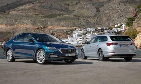 Skoda: Η νέα Octavia Grand Coupe φωτογραφημένη στην Κρήτη