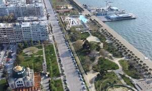 Κορονοϊός: Η άδεια Θεσσαλονίκη από ψηλά - Απίστευτες εικόνες