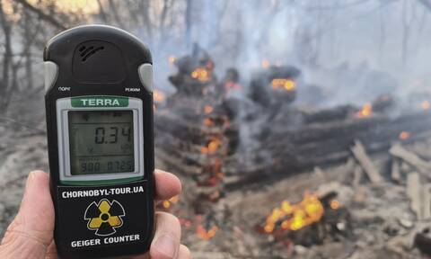Τσέρνομπιλ: Παγκόσμιος τρόμος από την πυρκαγιά – Τι «δείχνουν» τα επίπεδα ραδιενέργειας στην Ελλάδα