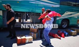 Κορονοϊός - Ρεπορτάζ Newsbomb.gr: Το αδιαχώρητο στα ΚΤΕΛ για τα αρνιά και τα κατσίκια από το χωριό