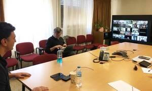 Κορονοϊός: Τηλεδιάσκεψη Τσιόδρα - Κικίλια με τον περιφερειακό διευθυντή του Π.Ο.Υ.