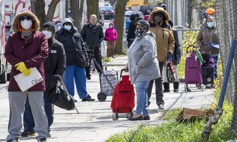 ΗΠΑ: Ο κορονοϊός «χτυπά» και την Οικονομία – 22 εκατ. Αμερικανοί γράφτηκαν ήδη στα μητρώα ανεργίας