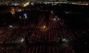 Κορονοϊός: 6.000 κεράκια άναψε ο δήμος Ξάνθης στα κοιμητήρια τη Μεγάλη Παρασκευή