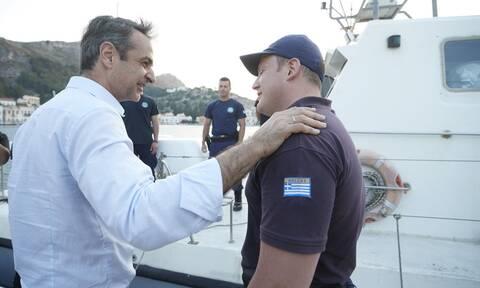 Οι ευχές του Κυριάκου Μητσοτάκη στους Έλληνες ναυτικούς και στα στελέχη του Λιμενικού Σώματος