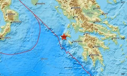 Σεισμός ΤΩΡΑ κοντά στην Κεφαλονιά - Αισθητός σε αρκετές περιοχές (pics)