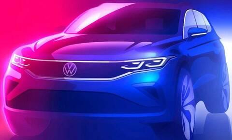 Νέο VW Tiguan: Αυτή είναι η πρώτη επίσημη εικόνα του