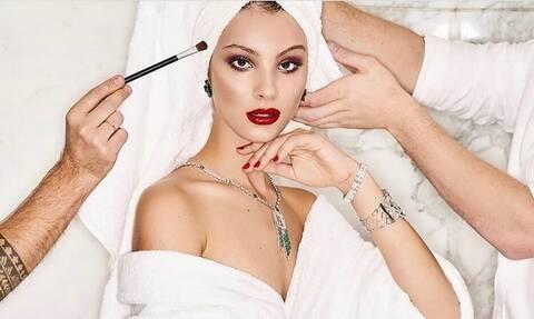 Δεν μπορεί... Έτσι είναι πραγματικά η Άννα Μαρία Ηλιάδου χωρίς ίχνος μακιγιάζ