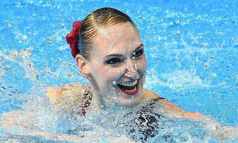 Δεν φαντάζεστε τι έκανε ολυμπιονίκης στη μπανιέρα της (photos+video)