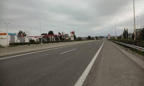 Κορονοϊός – Δευτέρα του Πάσχα: Μαγικές εικόνες από την άδεια εθνική οδό (vid)