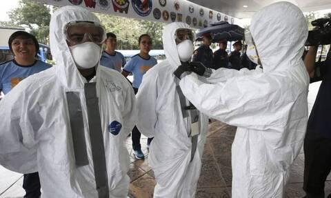 Κορονοϊός: Νόσησε από τον ιό και άλλαξε χρώμα - Απίστευτες εικόνες