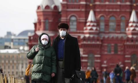 Κορονοϊός - Ρωσία: 5.642 νέα κρούσματα και 52 νεκροί το τελευταίο 24ωρο
