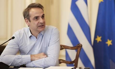 Ελληνοτουρκικά και πανδημία στο επίκεντρο τηλεδιάσκεψης Μητσοτάκη-Νεοφύτου