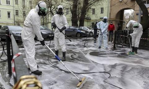 Κορονοϊός στη Ρωσία: Ξεπέρασαν τους 260 οι θάνατοι στη Μόσχα - 456 στη χώρα συνολικά