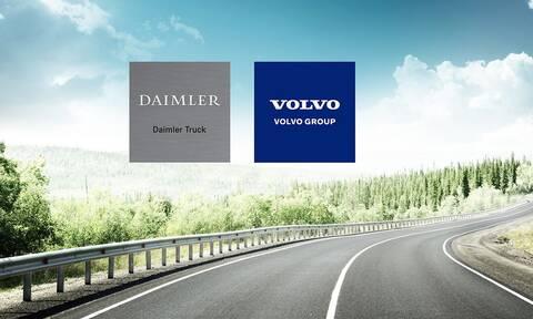 Οι κλάδοι φορτηγών της Mercedes και τη Volvo συνεργάζονται για την εξέλιξη ενεργειακών κυψελών