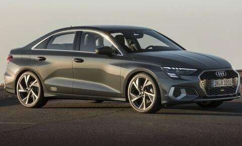 Καινούργιο Audi A3 Sedan: Ξεκινά αρχικά από τα 1.500 κυβικά και με ήπια υβριδική υποβοήθηση