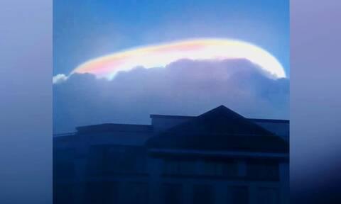 Κοίταξαν ψηλά στον ουρανό και είδαν μια απίστευτη λάμψη. Δεν πήγε το μυαλό τους πως...