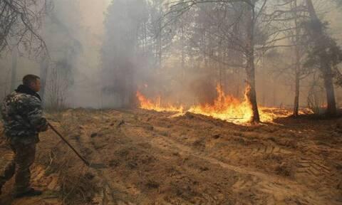 Τσέρνομπιλ: Σοκαριστικές εικόνες μετά τη φωτιά - Drone κατέγραψε την καταστροφή