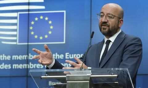 Οι ηγέτες της ΕΕ εξέφρασαν πλήρη αλληλεγγύη στην Κύπρο για τις παράνομες ενέργειες της Τουρκίας