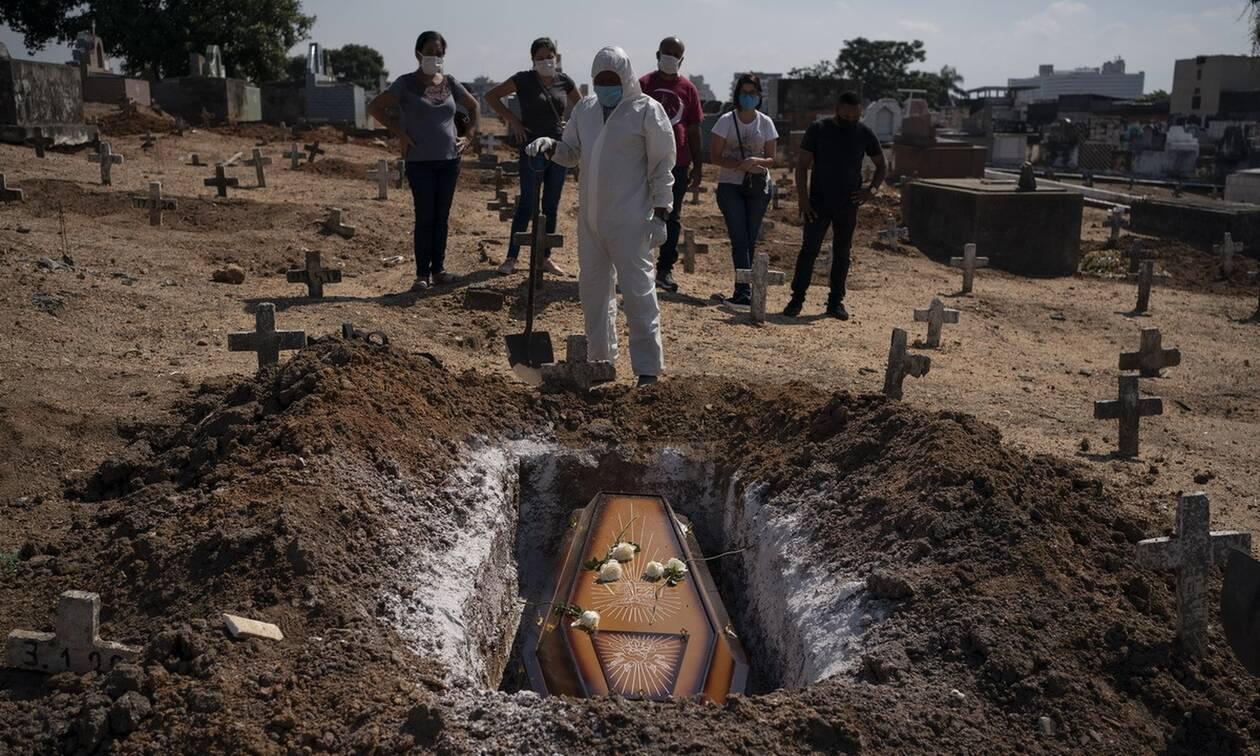 Κορονοϊός στη Βραζιλία: Ξεπέρασαν τους 3.300 οι νεκροί