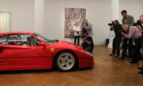 Σαντάμ Χουσεΐν: Δες πού βρίσκεται σήμερα η εντυπωσιακή Ferrari F40 του
