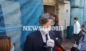 Κορονοϊός: Οι πρώτες δηλώσεις Τσιόδρα μετά την εκκένωση της κλινικής «Ταξιάρχαι»