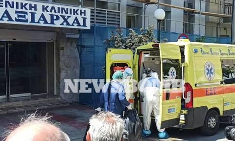 Κορονοϊός:Σε καραντίνα 121 επαφές κρουσμάτων στην κλινική «Ταξιάρχαι»-Αρνητικά τα τεστ στην Κασταλία
