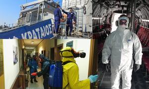 Κορονοϊός: Παρατείνονται τα μέτρα προστασίας στις Ένοπλες Δυνάμεις