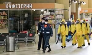 Κορονοϊός - Ρωσία: 5.966 νέα κρούσματα COVID-19 το τελευταίο 24ωρο
